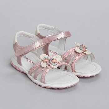 Pink Alyssa Sandal- Toddler & Girls