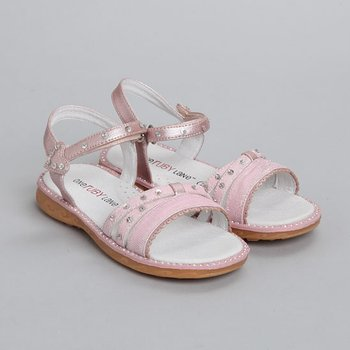 One Ruby Lane - Pink Anna Sandal - Infant, Toddler & Girls