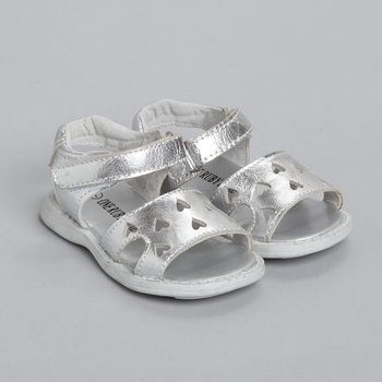 Silver Brooke Sandal - Infant & Toddler