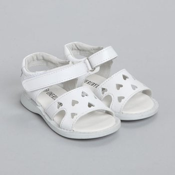 White Brooke Sandal - Infant & Toddler