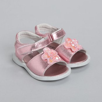 Pink Zoey Sandal - Infant & Toddler