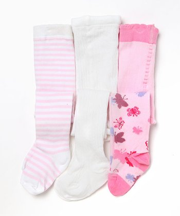 Pretty in Pink Baby Tights - Infant