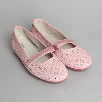 Girls' Baby Pink Viorel Mary Jane - Girls