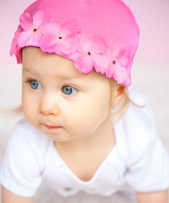 Fuchsia Flower Fairy Beanie - Infant
