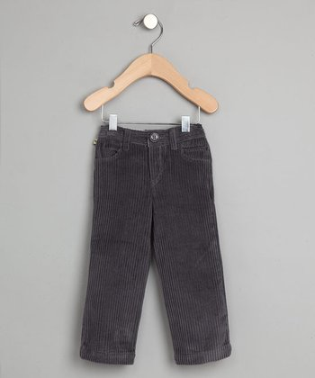 Gray Corduroy Pants - Infant & Toddler