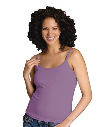 Soft Purple Nursing Bra Tank