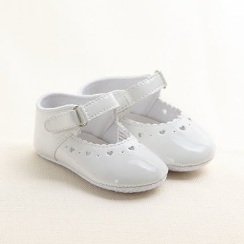 White Beibi Paris Shoes - Infant