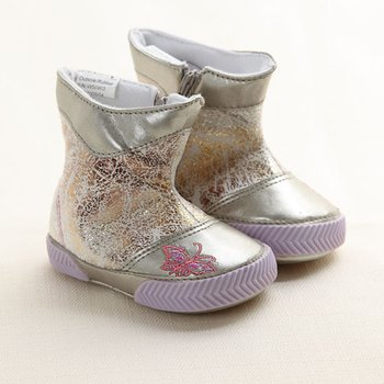 Silver Beibi Iris Shoes - Infant