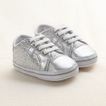 Silver Beibi Tyler Shoes - Infant
