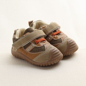 Brown Beibi Crawford Shoes - Infant