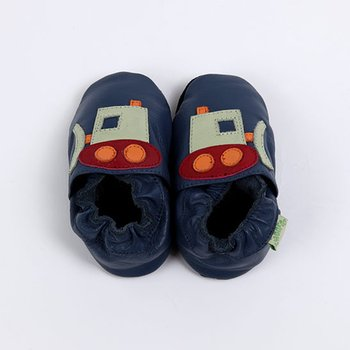 Dark Blue Bulldozer Soft Sole Shoe