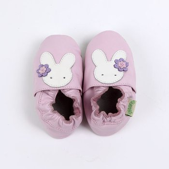 Light Pink Bunny Soft Sole Shoe