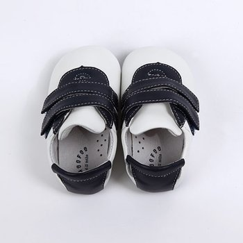 Dark Blue & White Ronney Baby Tennis Shoe