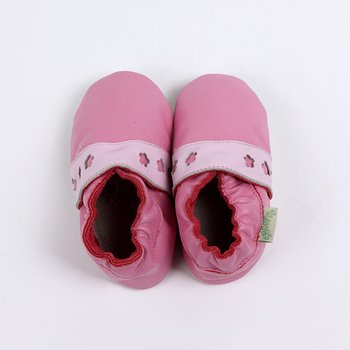Dark Pink & Light Pink Straight Lace Soft Sole Shoe