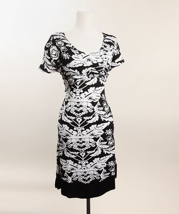 Flower Print Shrug Nursing Dress