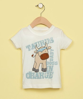 Boys' Taurus Organic Tee Shirt - Infant & Toddler