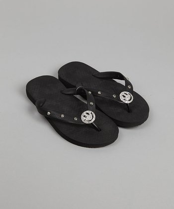 Black Flip-Flop - Infant & Toddler