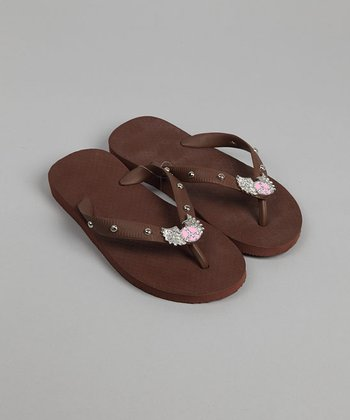 Brown Flip-Flop - Infant & Toddler