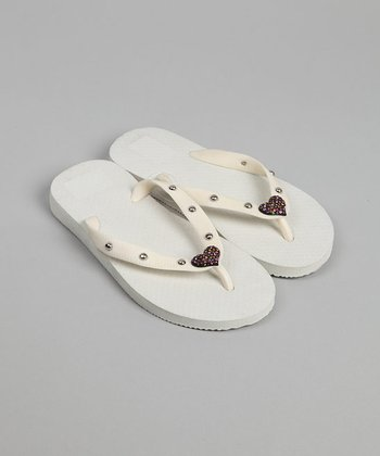 White Flip-Flop - Infant & Toddler