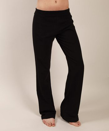 Blue Canoe Black Posh Organic Yoga Pants
