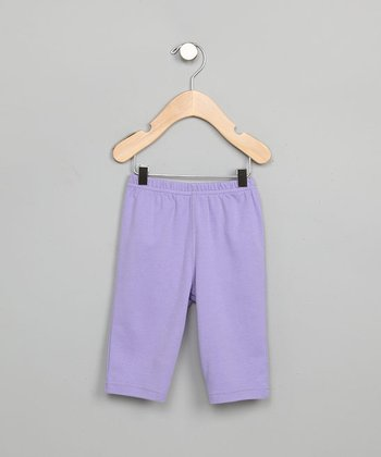 Baby Creationz - Purple Slip-On Pants - Newborn to 9 Months