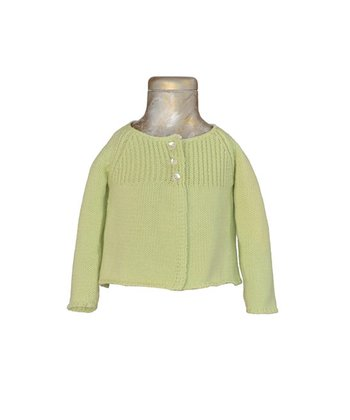 Green Angel Sweater - Infant, Toddler & Girls