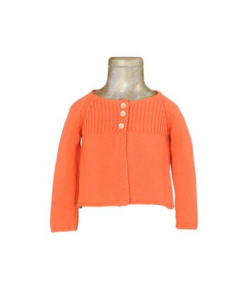 Orange Angel Sweater - Infant, Toddler & Girls