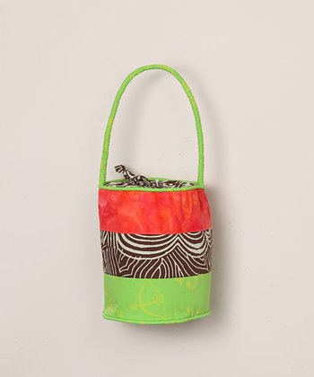Desert Cactus Bucket Purse