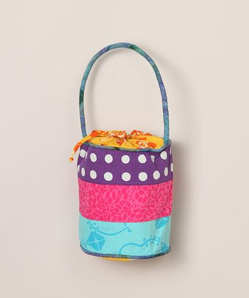 Patchwork Bucket Purse
