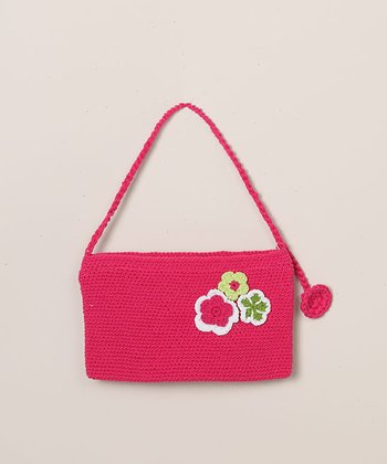 Rose Pink Clutch Purse