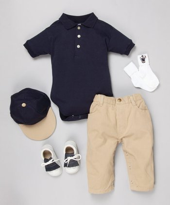 US Open Navy Five-Piece Golf Set - Infant