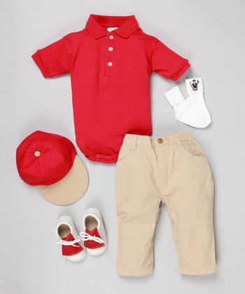 Ryder Cup Red Five-Piece Golf Set - Infant