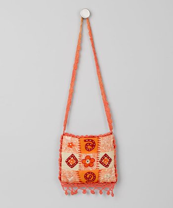 Embroidered Patchwork Purse