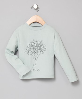 Baby Eggi Boys - Ocean Fall Tree Long-Sleeve Tee