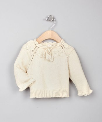 Organic Hand-Knitted Sweater - Infant & Toddler