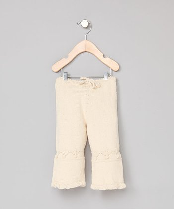Organic Hand-Knitted Pants - Infant & Toddler