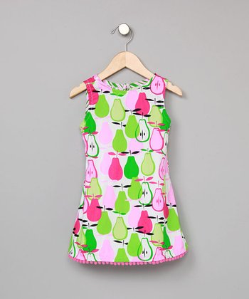 Pear Pom-Pom Dress - Infant, Toddler & Girls