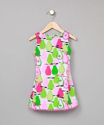 Pear Pom-Pom Dress - Infant & Toddler