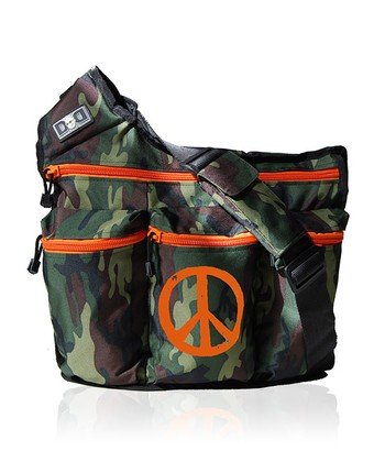 Camo Peace Diaper Bag