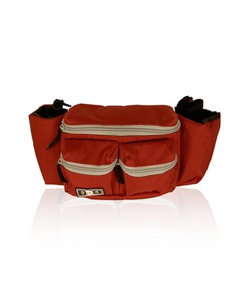 Red & Gray Mini Dude Diaper Bag
