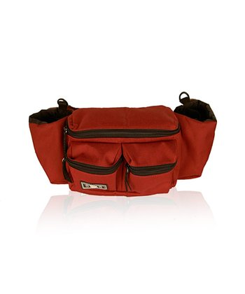 Red & Black Mini Dude Diaper Bag
