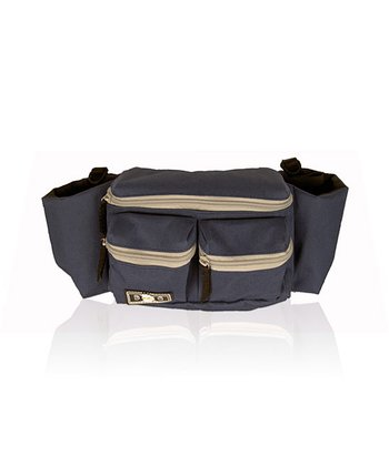Diaper Dude - Navy & Gray Mini Dude Diaper Bag