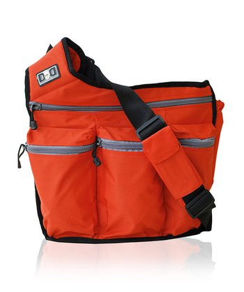 Diaper Dude - Orange Diaper Bag