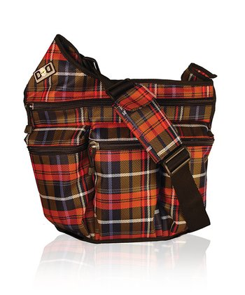 Diaper Dude - Plaid Diaper Bag