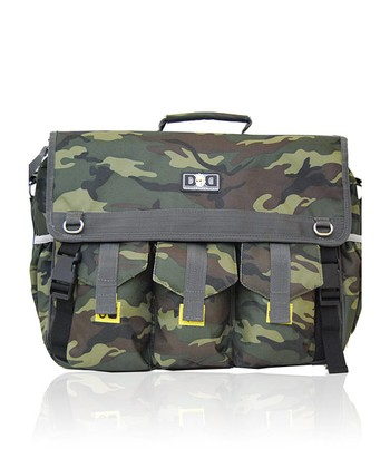 Diaper Dude - Camo Deluxe Diaper Bag