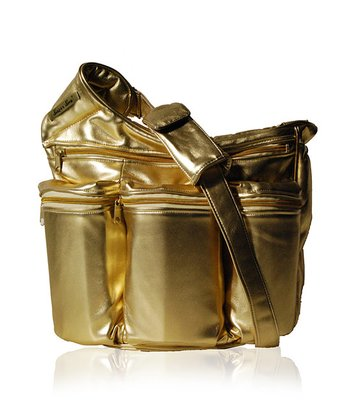 Gold Diva Diaper Bag