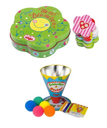 HABA - Girls' Road Tin Set