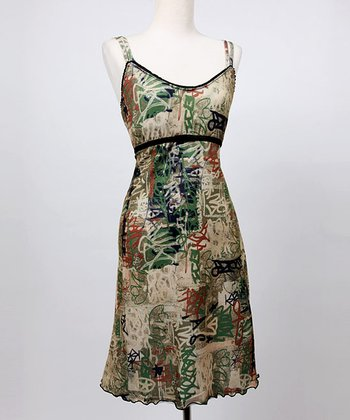 Camo Graffiti Emily Nursing Dress