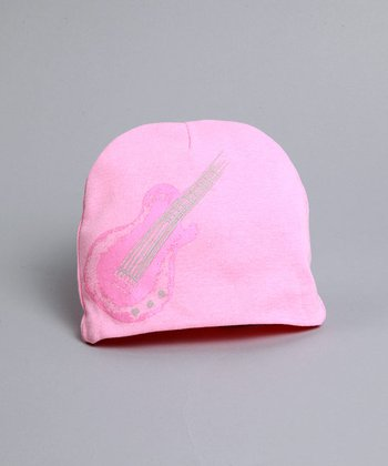 Pink Hat with Pink Guitar - Infant & Toddler