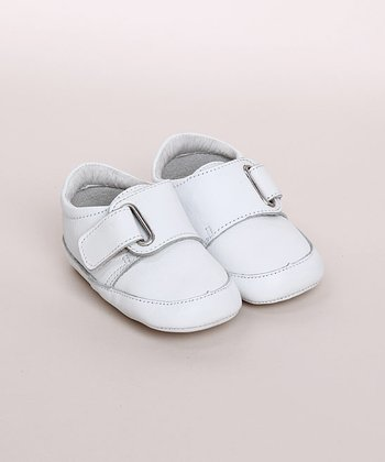 White Infant Velcro Shoe